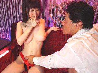 水卜さくら 欲求不満な美乳おっパブ嬢が性欲を満たす為に男性客を誘惑してこっそり挿入して禁断の本番行為 JavyNow女性専用無料エロ動画